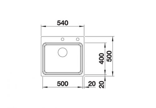 akcija inox sudopere blanco etagon 500 if a