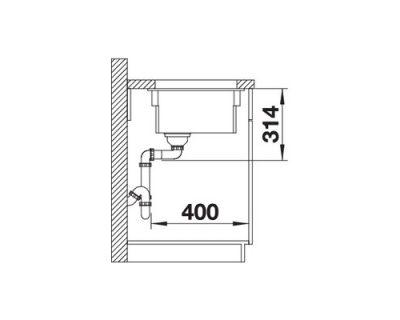 akcija keramičke sudopere blanco etagon 500-u