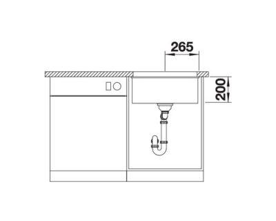 akcija granitne sudopere blanco etagon 500 u silgranit