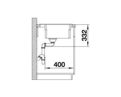 akcija granitne sudopere blanco etagon 8 silgranit