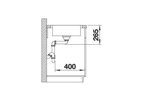 akcija inox sudopere blanco lantos 45s if compact