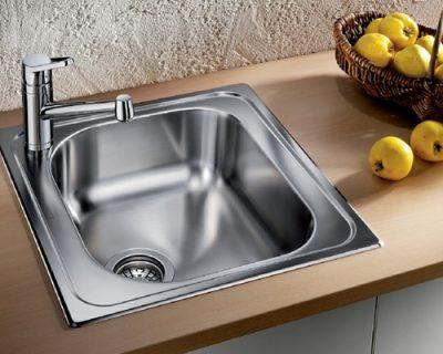 akcija sudopera blanco tipo 45 inox dorada cetkom