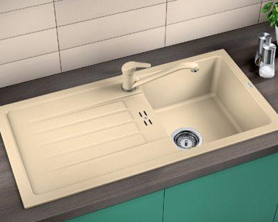 akcija granitne sudopere blanco favum 45 s silgranit
