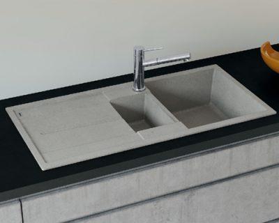 akcija granitne sudopere blanco metra 6 s silgranit beton style