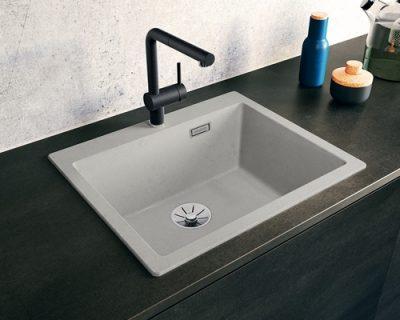 akcija granitne sudopere blanco pleon 6 silgranit beton style