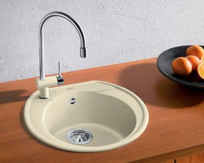 akcija granitne sudopere blanco rondoval 45 silgranit