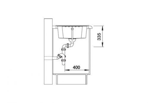 akcija granitne sudopere blanco zia 40 s silgranit