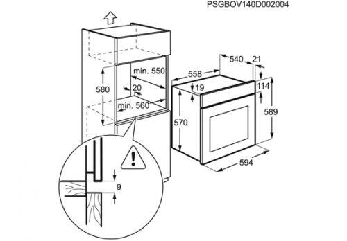 electrolux rerna ezb3410aox