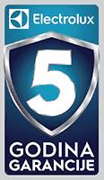 electrolux 5 godina garancija