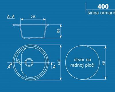 sudopera ulgran u-500 granit