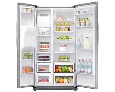 samostojeći kombinovani frižideri side by side samsung RS50N3413SA/EO