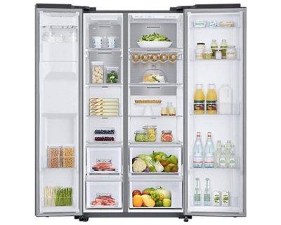 samostojeći kombinovani frižideri side by side samsung RS68N8240S9-EF