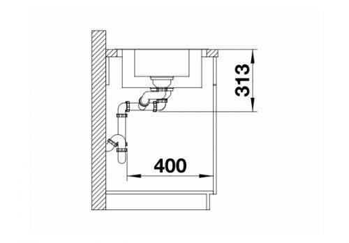 polirane inox sudopere Blanco Classimo 6 S-IF