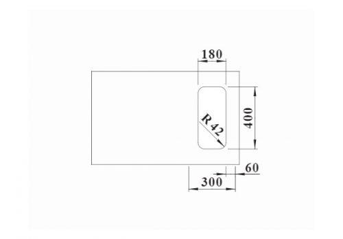 inox podgradne sudopere Blanco Solis 180-U