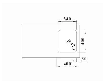 inox podgradne sudopere Blanco Solis 340-U