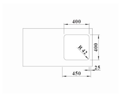 inox podgradne sudopere Blanco Solis 400-U
