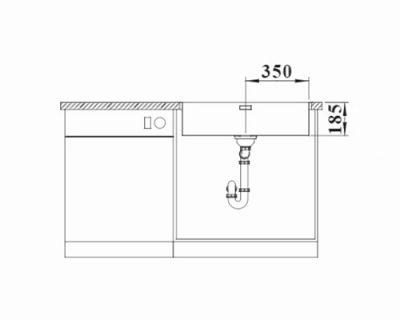 polirane inox sudopere Blanco Solis 700-if/a
