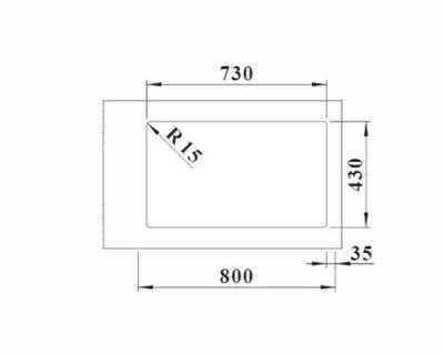 polirane inox sudopere Blanco Solis 700-if